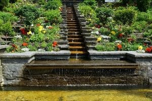 How to take care of an outdoor fountain