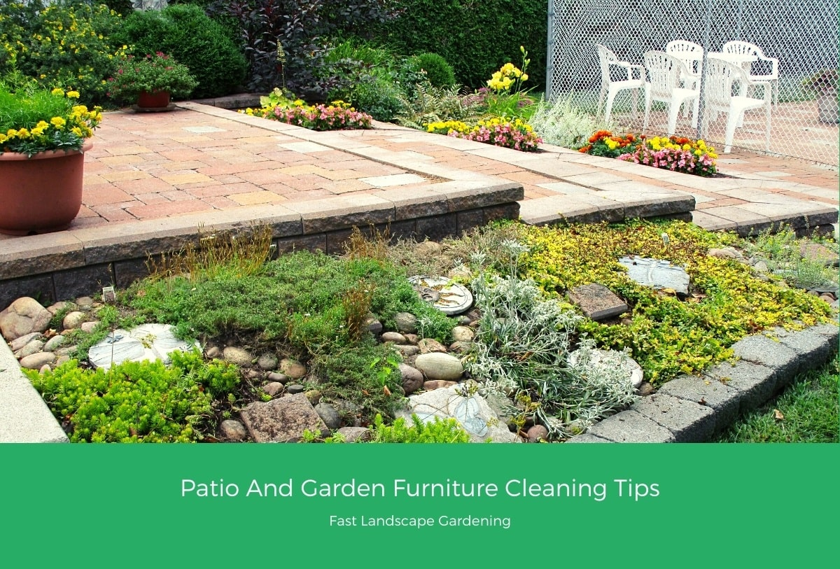 Patio And Garden Furniture Cleaning Tips